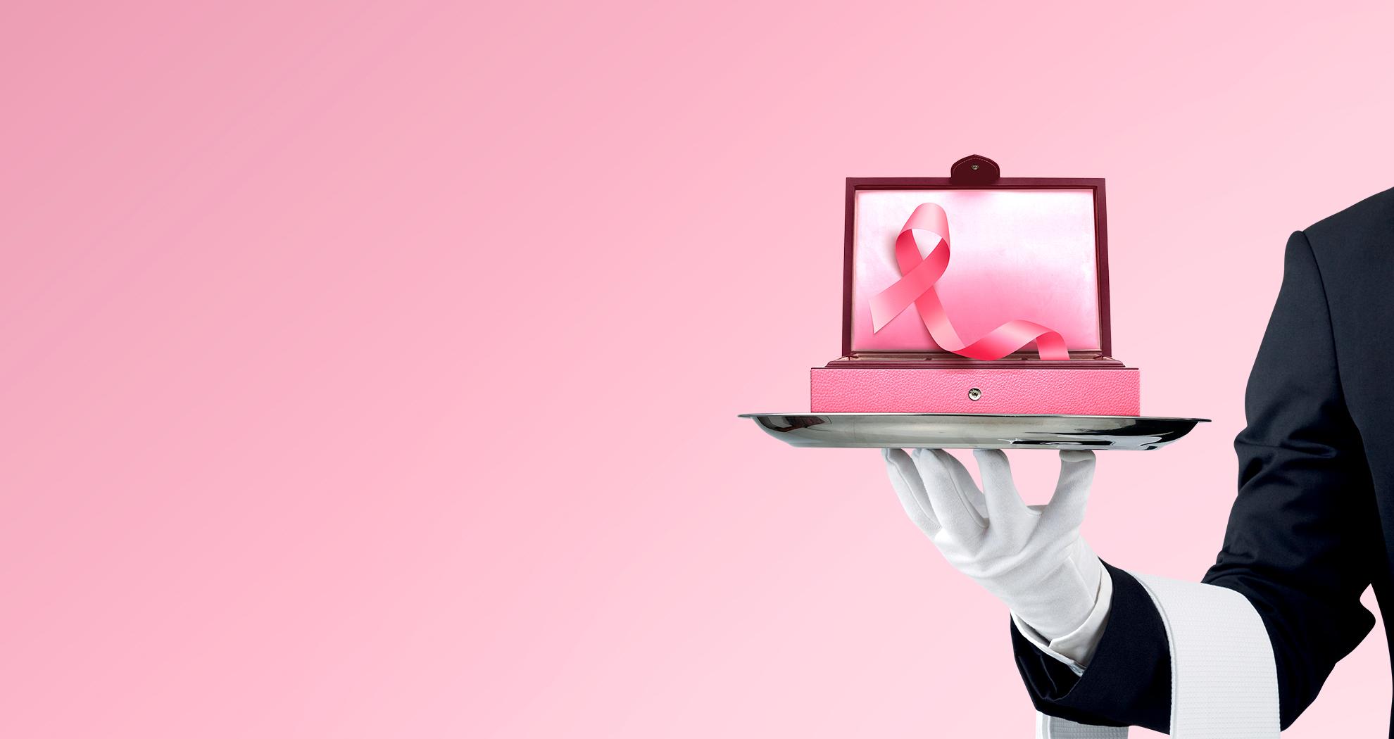 Octobre Rose, ensemble <br>contre le cancer du sein !<br>
